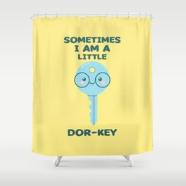 Dor-Key Shower Curtain