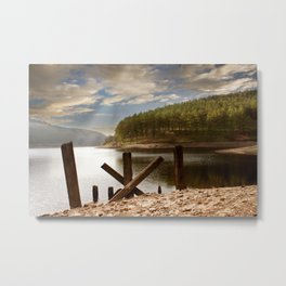 The Gantry Metal Print