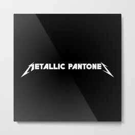 Metallic Pantones Metal Print