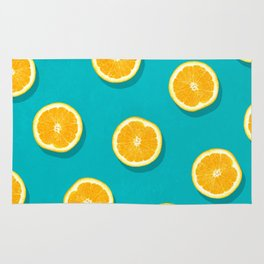Oranges - Fruit Pattern Rug