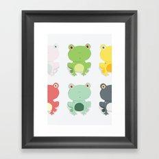 Frogs Framed Art Print