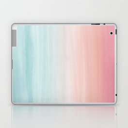 Touching Watercolor Abstract Beach Dream #1 #painting #decor #art #society6 Laptop & iPad Skin