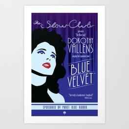 The Slow Club Art Print