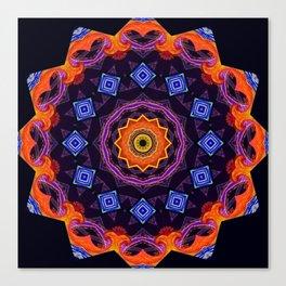 Complex Mandala Canvas Print