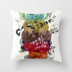 What'suppp  Throw Pillow