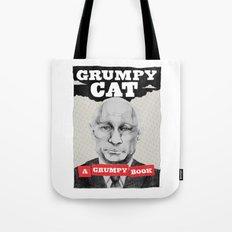 GRUMPY AS THE CAT  Tote Bag