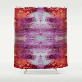 Fragmented 52 Shower Curtain
