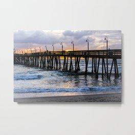The Imperial Beach Pier Metal Print