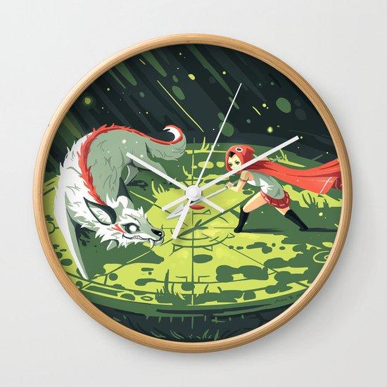 Duel Wall Clock