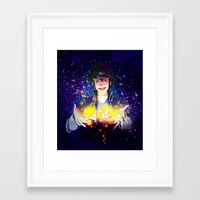 ace attorney Framed Art Prints featuring Clay Terran-Ace attorney Duel Destinies by Kiasherria