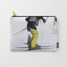 Natural High   - Ski Jump Landing Carry-All Pouch