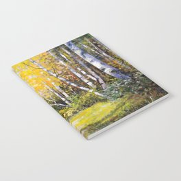 Birch Grove # 3 Notebook