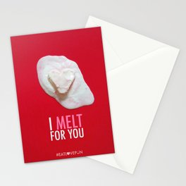 I Melt for You Stationery Cards