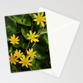Creeping Wildflowers Stationery Cards