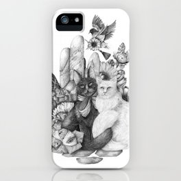 A Portrait of Us iPhone Case