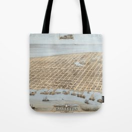 Galveston, Texas 1871 Tote Bag