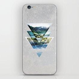 Mirror lake iPhone Skin