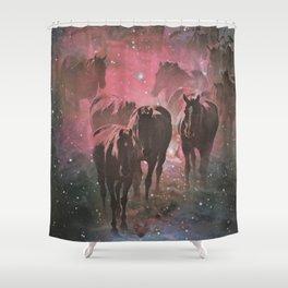 Wild Stars Shower Curtain