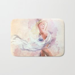Heart of Glass Bath Mat