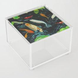 Koi Carp Acrylic Box