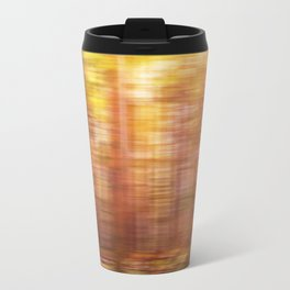 October Forest, Abstract Photography Travel Mug