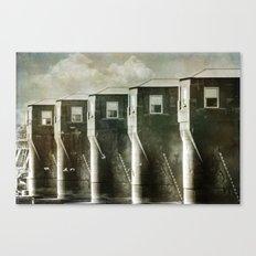 Dam No. 4 Canvas Print