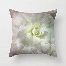 Begonia Pure Throw Pillow