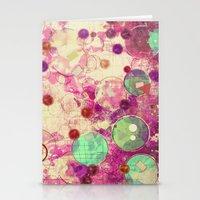 bubblegum Stationery Cards featuring Bubblegum by SensualPatterns