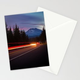 Curvy Mountain Road Stationery Cards