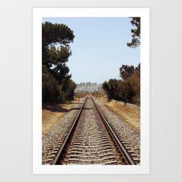 Tracks......... Art Print