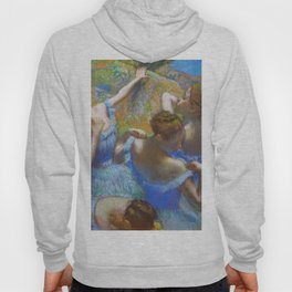 """Edgar Degas """"Dancers in blue"""" Hoody"""