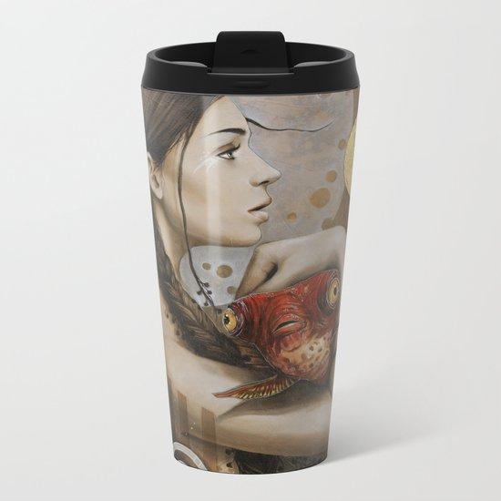 Rouge Metal Travel Mug
