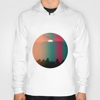 portugal Hoodies featuring Portugal Mountains by Joana Sa