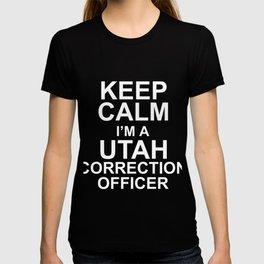 Keep Calm I'm A Utah Correction Officer T-shirt