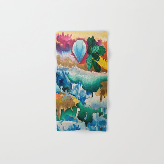 Creations of Light Reflections Hand & Bath Towel