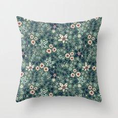 Earth Garden Throw Pillow