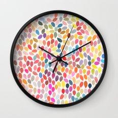 rain 3 sq Wall Clock