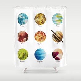 Away from Home and Back Shower Curtain