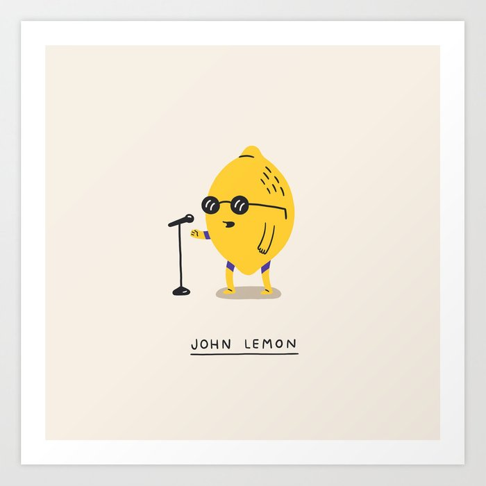 John Lemon Art Print