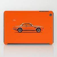 bmw iPad Cases featuring BMW CSL by Mark Rogan