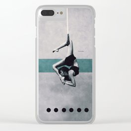 Aerial Clear iPhone Case