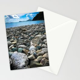 Coral Beach Stationery Cards