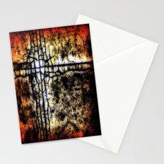 Bathroom Linoleum Stationery Cards