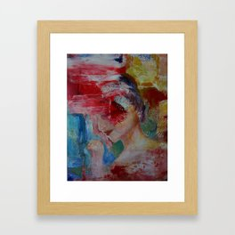 abstract figurative 2 Framed Art Print