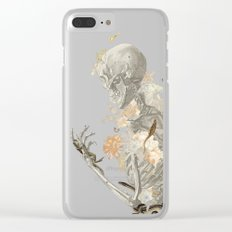 Stranger Danger I [sans type] Clear iPhone Case