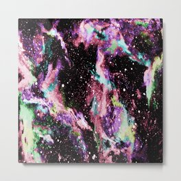 Galaxy (multicolored) Metal Print