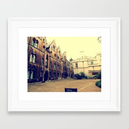 Beauty of Oxford Framed Art Print