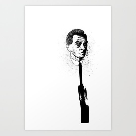 neck support Art Print