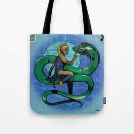 Moray Serpentine of the Deep Tote Bag