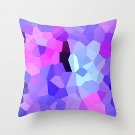 Purple Pink Amethyst - See Leggings! Throw Pillow